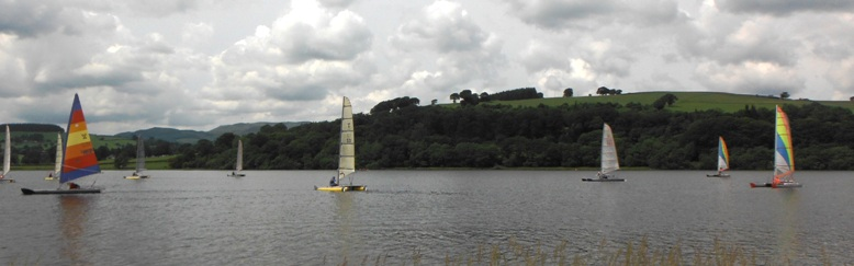 catapult training race at bala