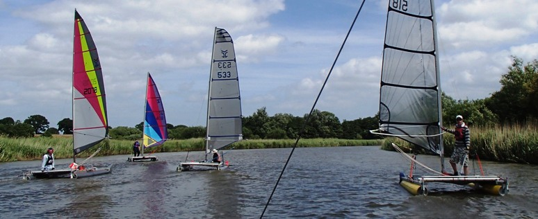 ctapults on the broads